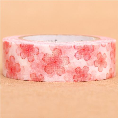 cherry blossoms flower mt Washi Masking Tape deco tape