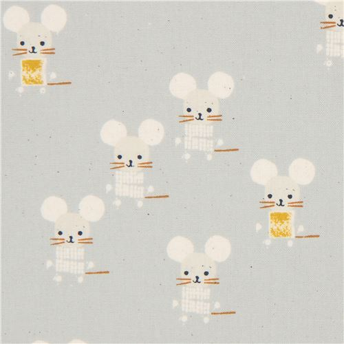 grey mouse fabric by Cotton and Steel