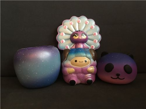 Galaxy squishies!