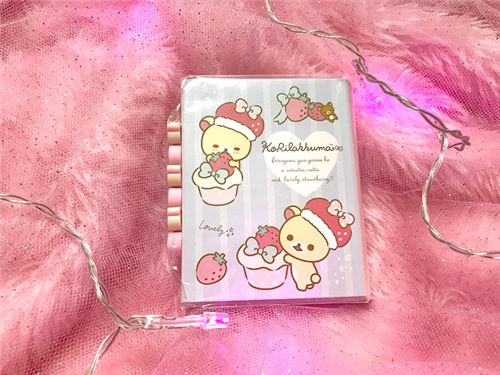 Super cute Korilakkuma stationery. Image courtesy of Creamy Pop.