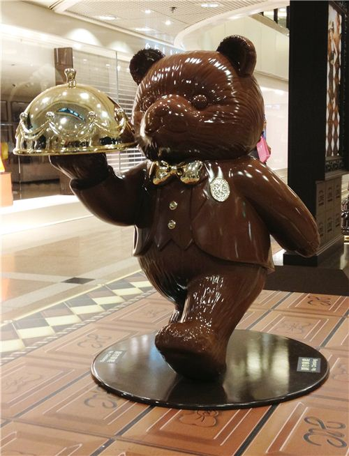 What a yummy chocolate bear