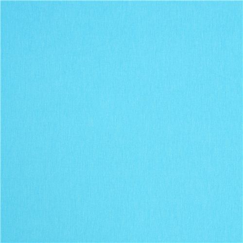 solid turquoise Robert Kaufman knit fabric