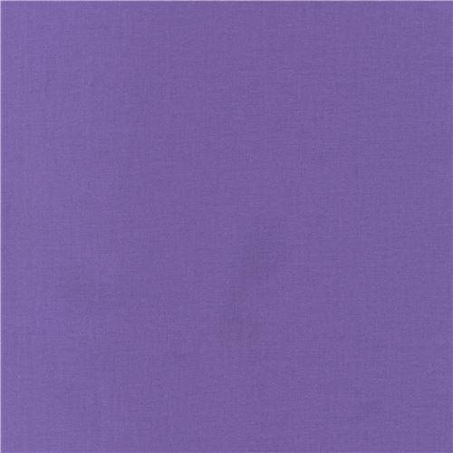 Crocus purple solid Kona fabric Robert Kaufman USA