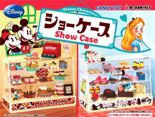 Disney Re-Ment Alice & Mickey Showcase Miniature Box