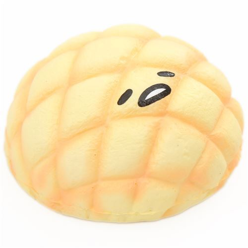 Sanrio melon bun squishy with Gudetama