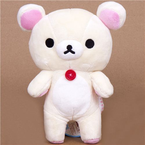 Rilakkuma plush toy white bear Korrilakkuma