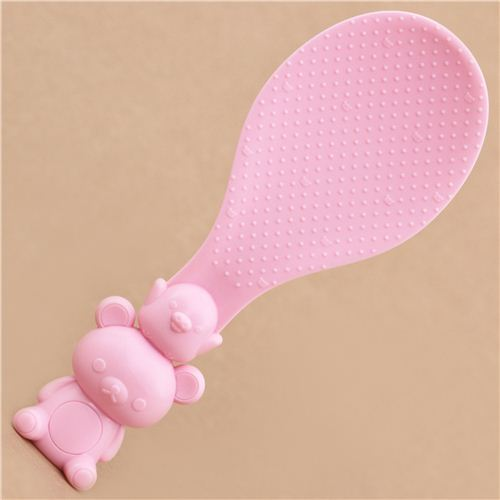 Rilakkuma pink bento rice paddle spoon kitchen utensil by San-X