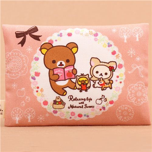deer Rilakkuma bear forest pie tissue case dispenser