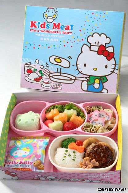 The children's meals are especially kawaii
