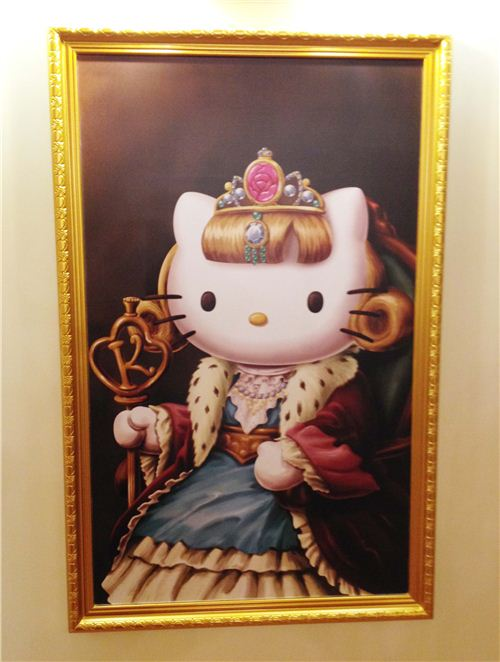 Hello Kitty as tzarina