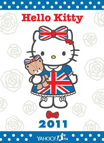 Hello Kitty x Yahoo e-cards 2011