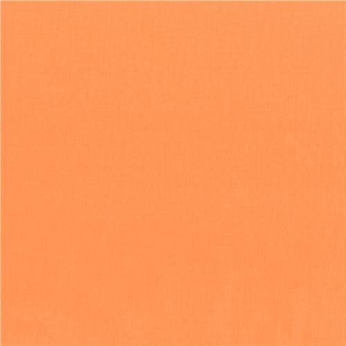 Cantaloupe peach-orange solid Kona fabric Robert Kaufman USA