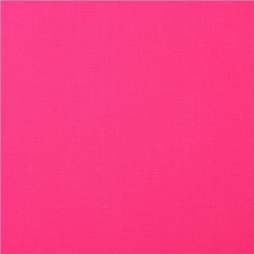 solid pink fabric Robert Kaufman USA Bright Pink