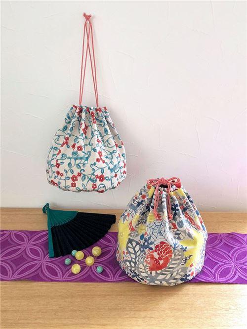 Patrón de costura GRATIS para hacer preciosas bolsas con cordón ...