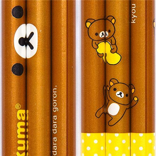 kawaii Rilakkuma pencil brown bear by San-X