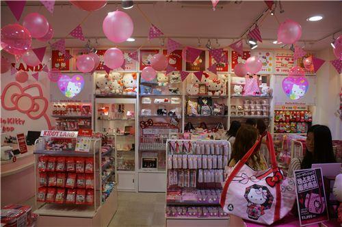 A kawaii dream come true: Lots of Hello Kitty stuff