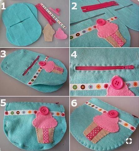 A super cute cupcake purse by lasmanualidades.com