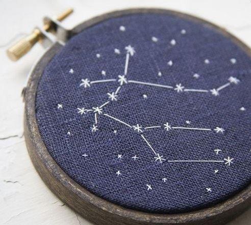 Beautiful constellation design by lilyandcompany.wordpress.com