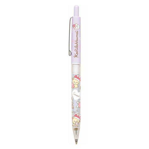 purple Korilakkuma bear strawberry mechanical pencil by San-X