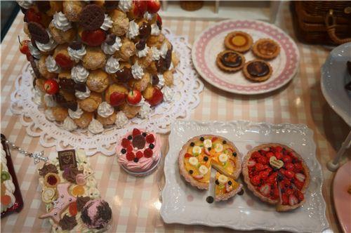 Yummy looking fruit tarts
