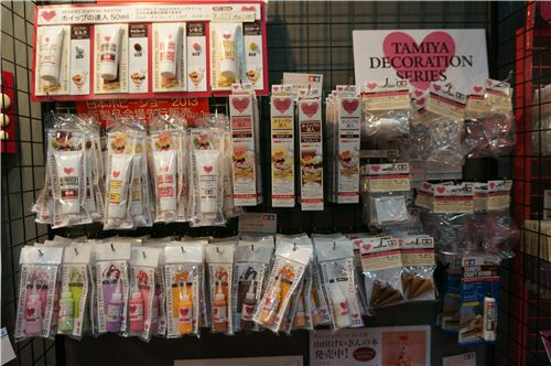 Lots of clay sauces and crafting supplies - we carry lots of them in our shop