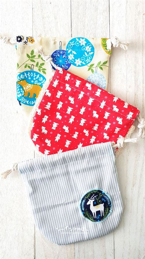 We simply LOVE these little pouches!