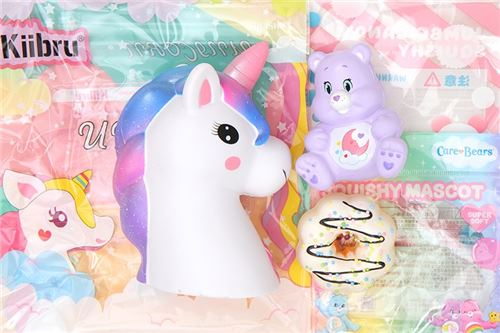 Participate in our giveaway with Kawaii Gazette for a chance to win squishies!