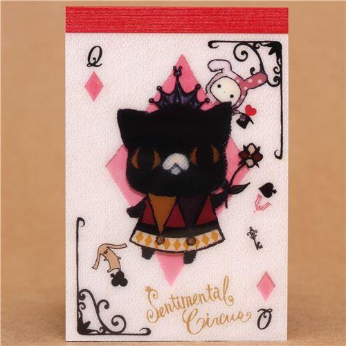Sentimental Circus Kuro diamonds mini Note Pad