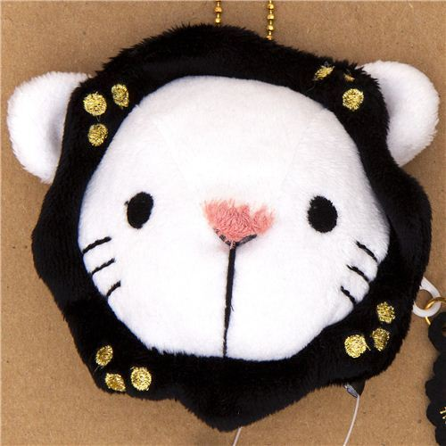 Sentimental Circus white lion plush cellphone charm