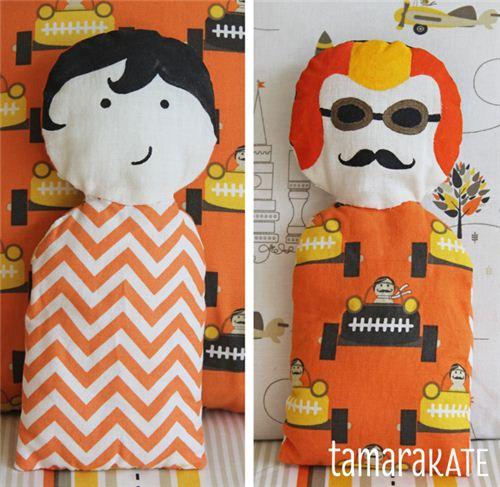 Adorable Les Monsieurs puppets
