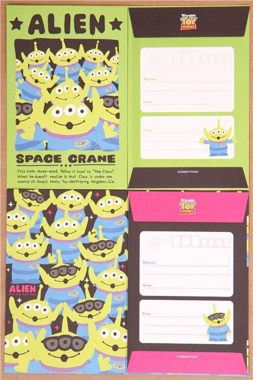 Disney Toy Story Alien letter Set little green men