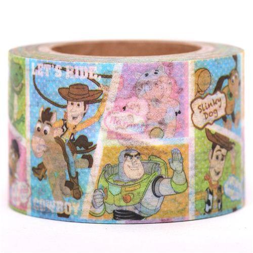 wide Disney Toy Story Woody Washi Masking Tape