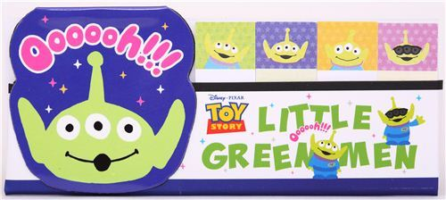 Toy Story Alien index stickers bookmark sticker magnet
