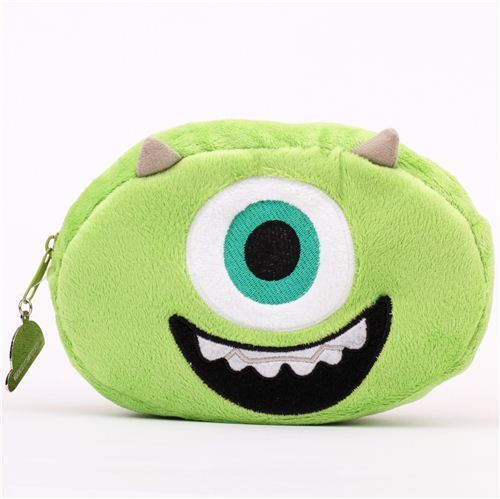 fluffy Monsters University Monster Inc. Mike pencil case