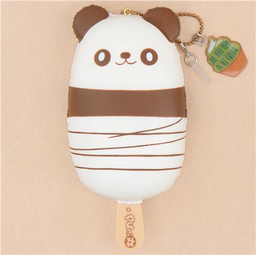 scented panda ice pop squishy by Puni Maru