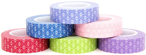 Our pretty new Washi Masking Tapes