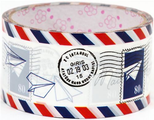 cute big letter Deco Tape airmail