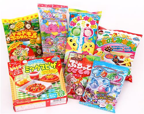 We have fun new Popin Cookin candy sets on modes4u.com