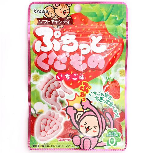 Puchitto Kudamono strawberry candy Popin' Cookin'