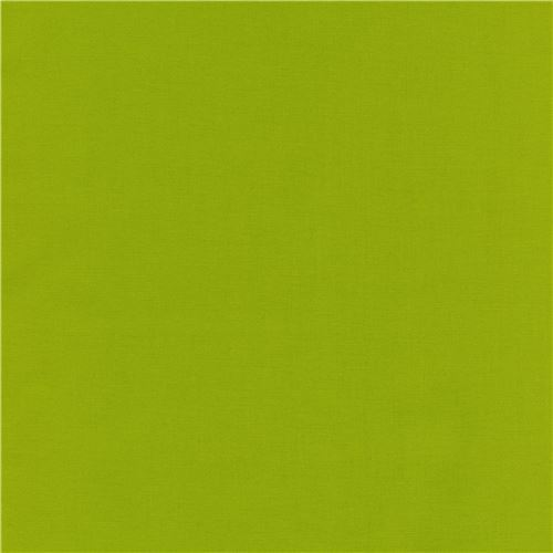 lime green laminate fabric by Robert Kaufman Kona Cotton Slicker