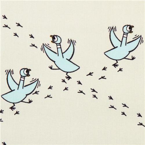 turquoise Cloud 9 running pigeon diamond organic fabric