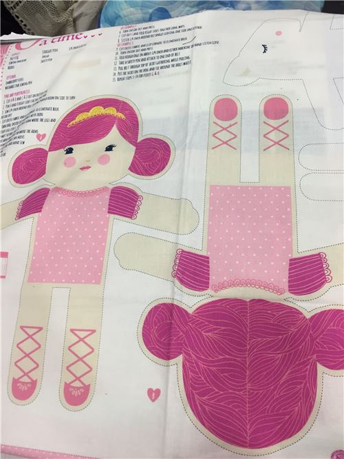 A doll pattern from Moda