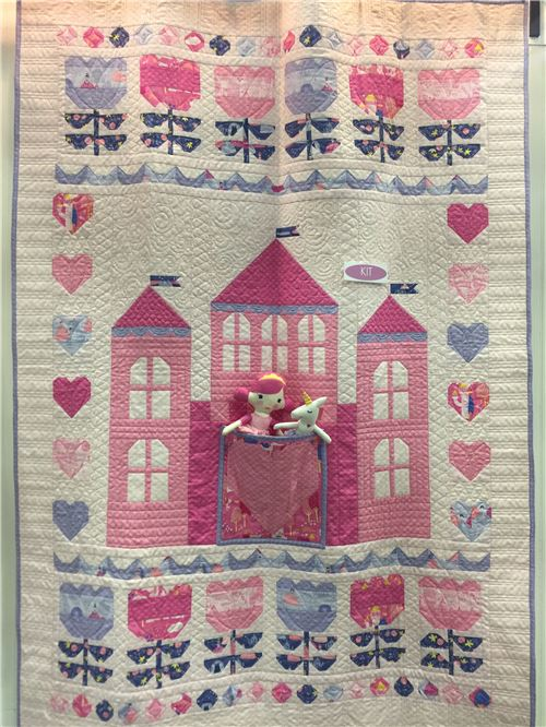 An adorable Moda quilt