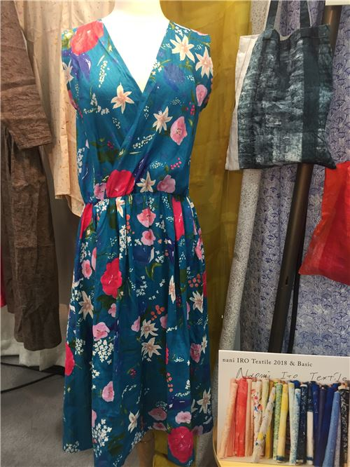 A lovely dress made from nani iro fabric