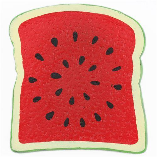 watermelon bread toast by Joey Squishy