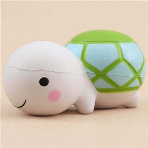 white turtle scented squishy by LeiLei