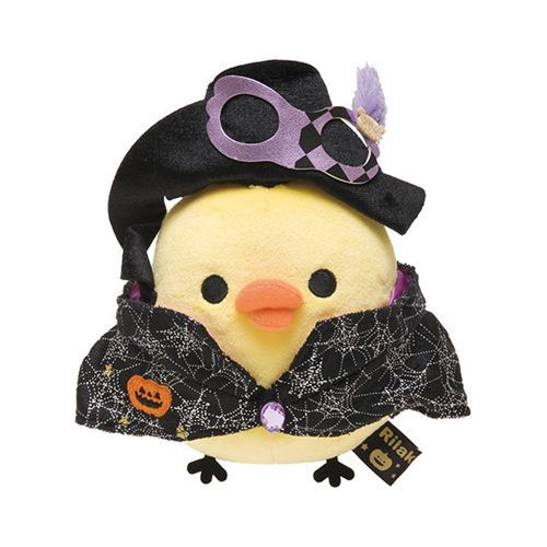 Rilakkuma Halloween Party yellow chick plush toy San-X