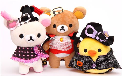 Rilakkuma Halloween Party Plush Toy Collection