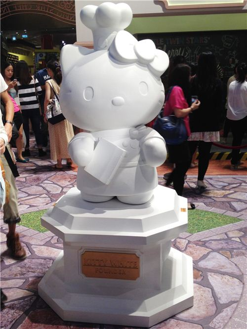 Hello Kitty statue