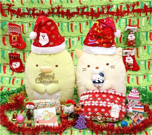 Sumikkogurashi cat and penguin's favorite Christmas presents from modes4u.com 1